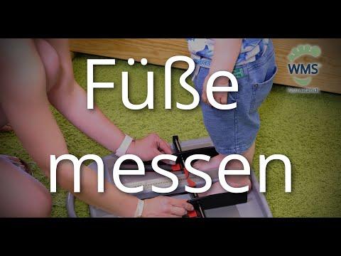 Warum Füße messen wichtig ist